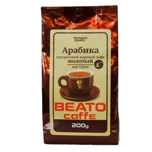 Кофе BEATO Арабика, молотый под турку