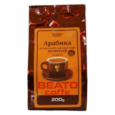 Кофе BEATO Арабика, молотый под эспрессо оптом