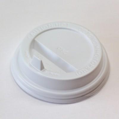 Крышка ПС с клапаном d=80мм белая (100 шт.)