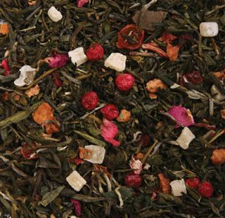 Ароматизированные зеленые чаи